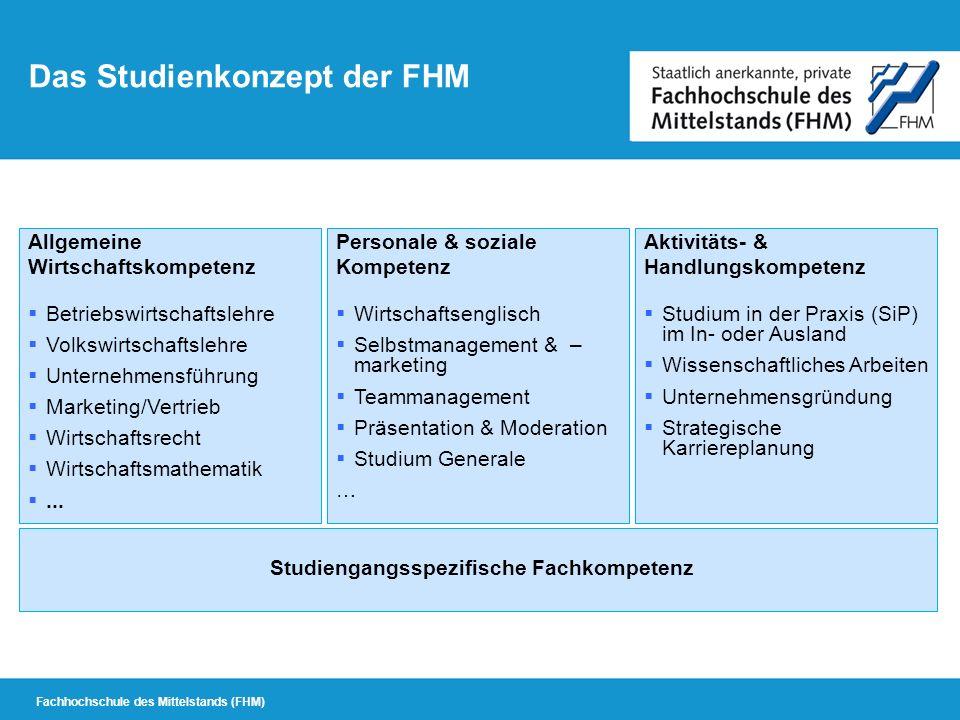 Studiengangsspezifische Studiengangsspezifische Fachkompetenz