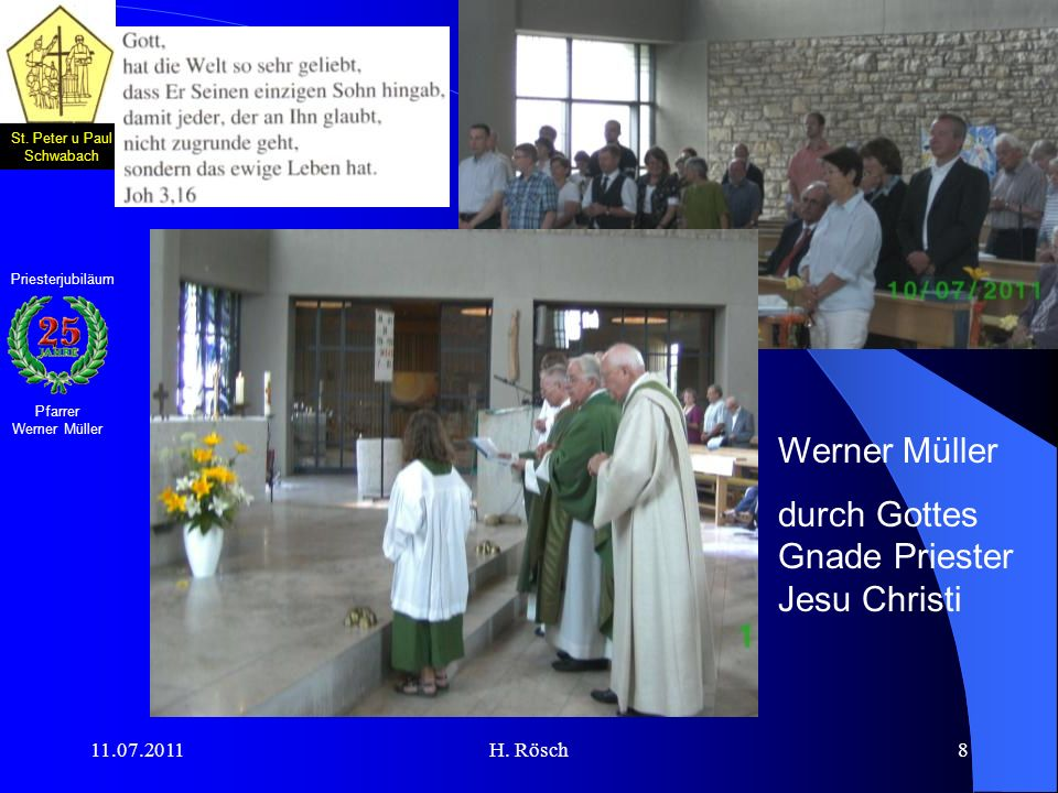 durch Gottes Gnade Priester Jesu Christi