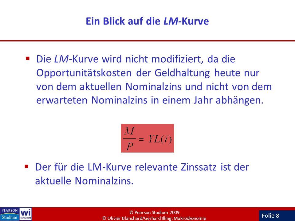 Ein Blick auf die LM-Kurve