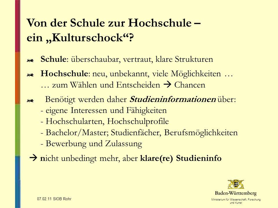 """Von der Schule zur Hochschule – ein """"Kulturschock"""