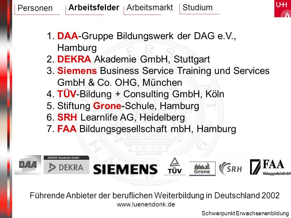 1. DAA-Gruppe Bildungswerk der DAG e.V., Hamburg