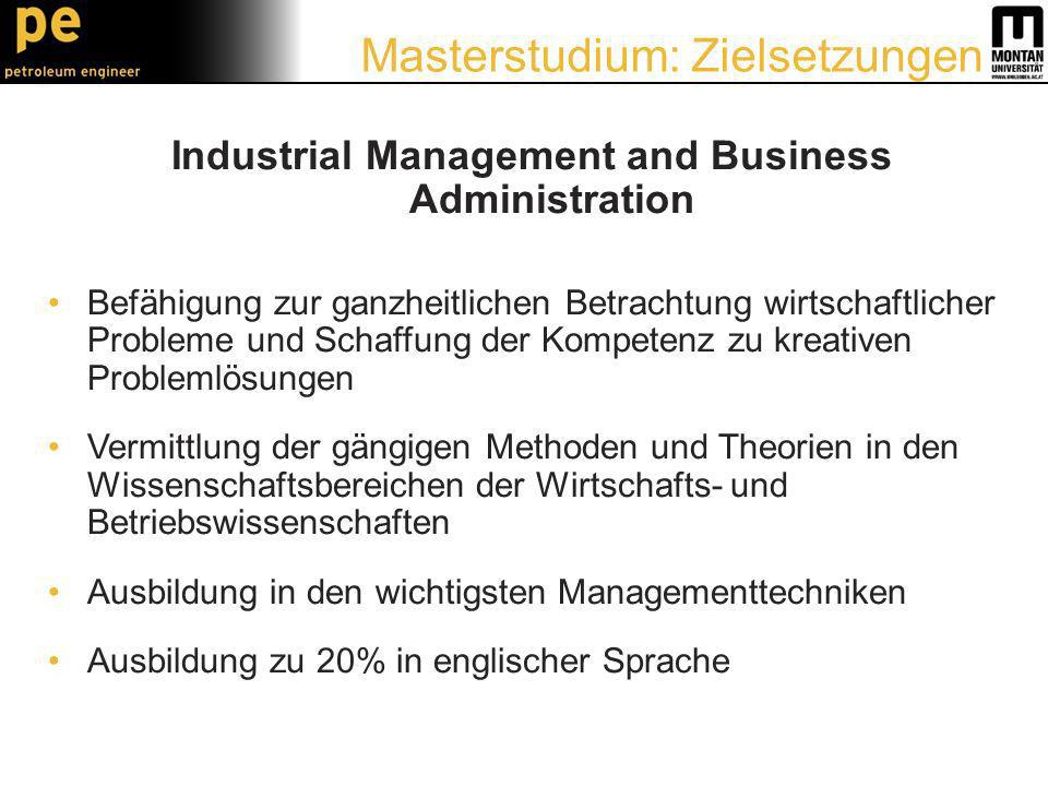 Industrial Management and Business Administration