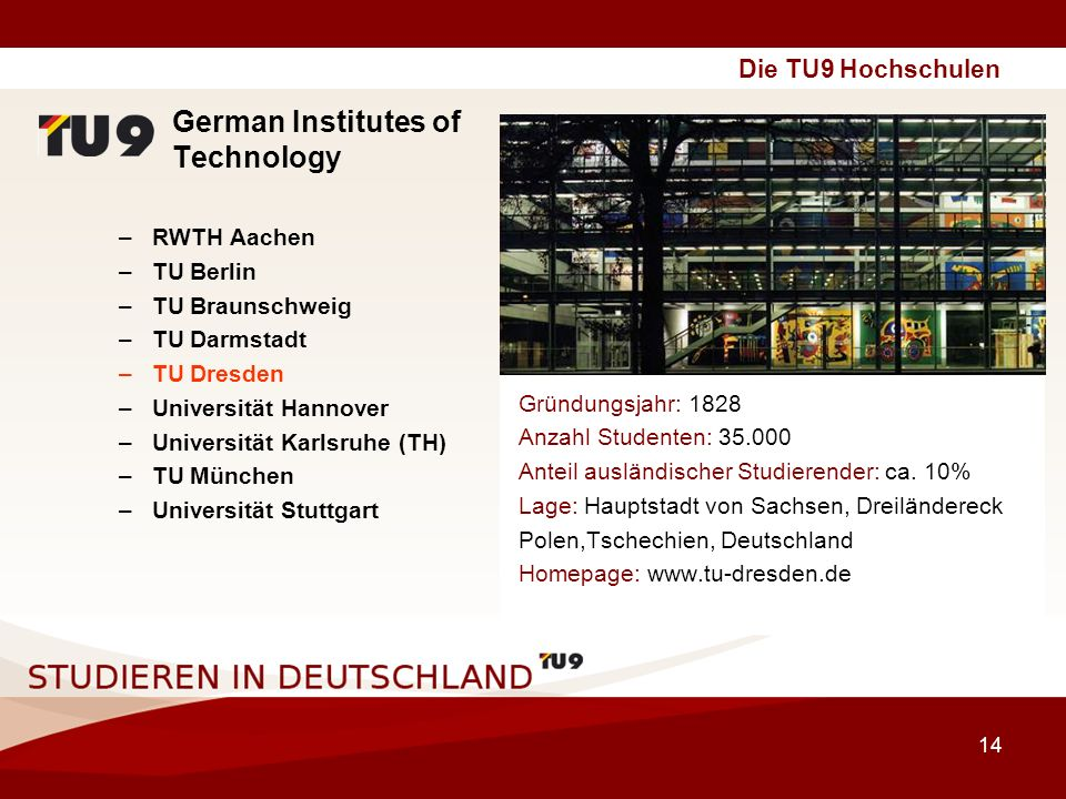 German Institutes of Technology