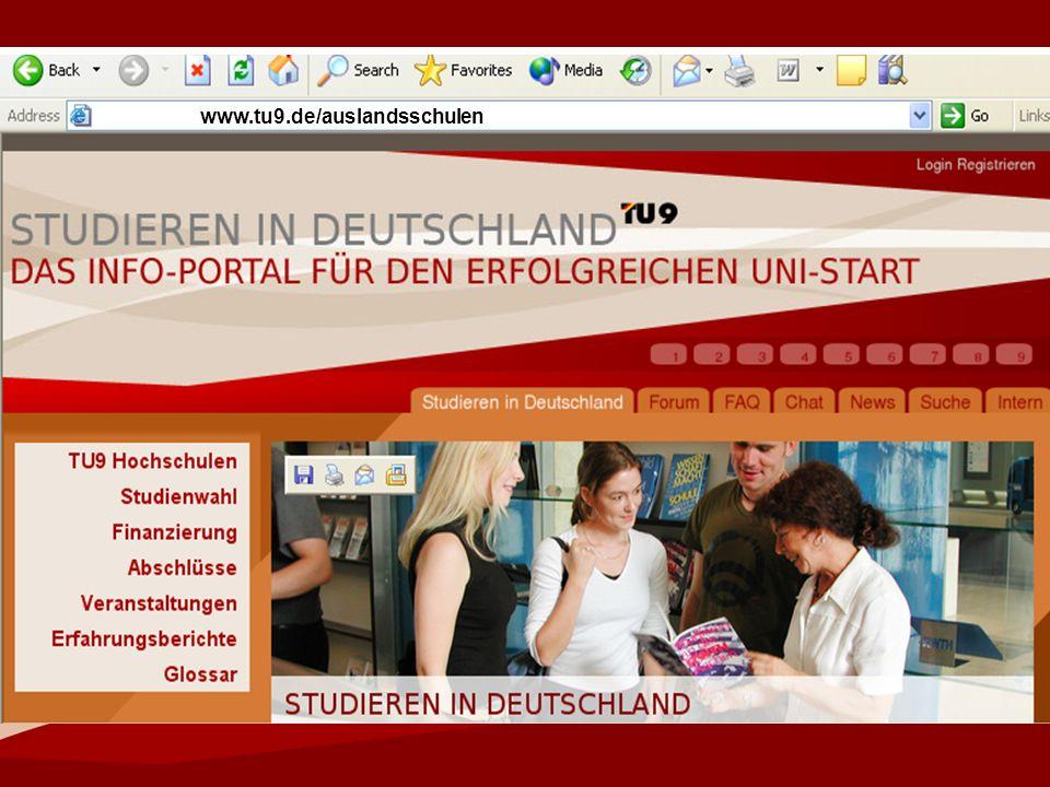 www.tu9.de/auslandsschulen