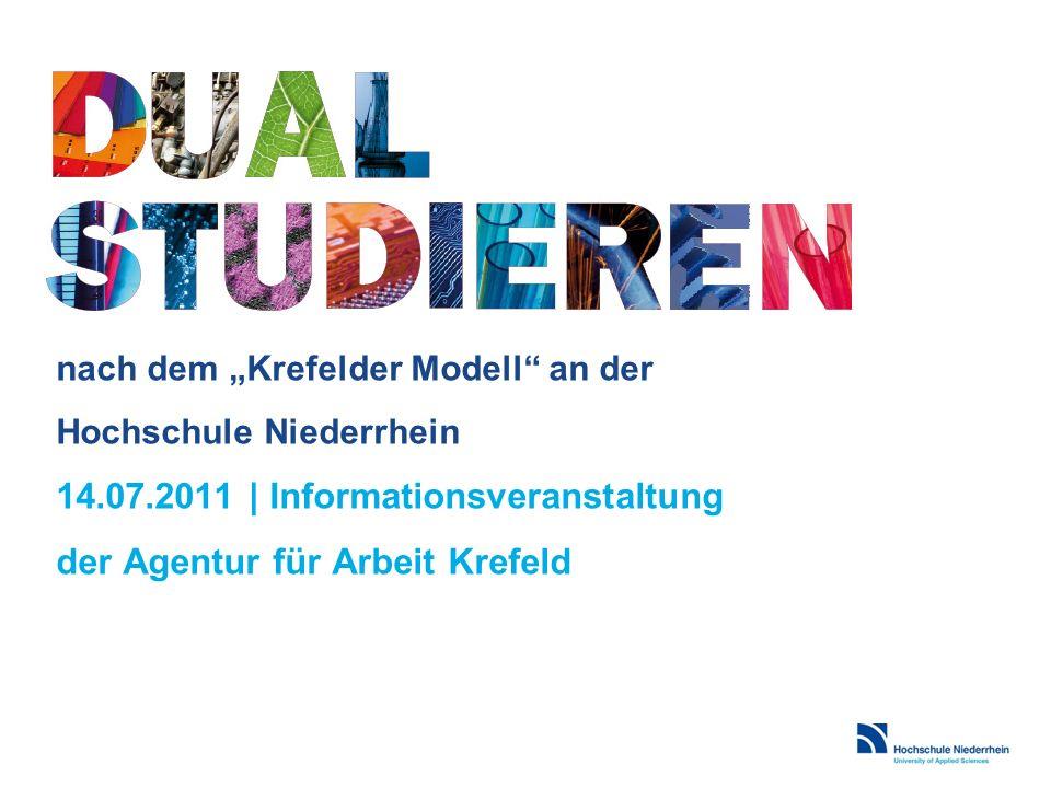 """nach dem """"Krefelder Modell an der Hochschule Niederrhein 14. 07"""