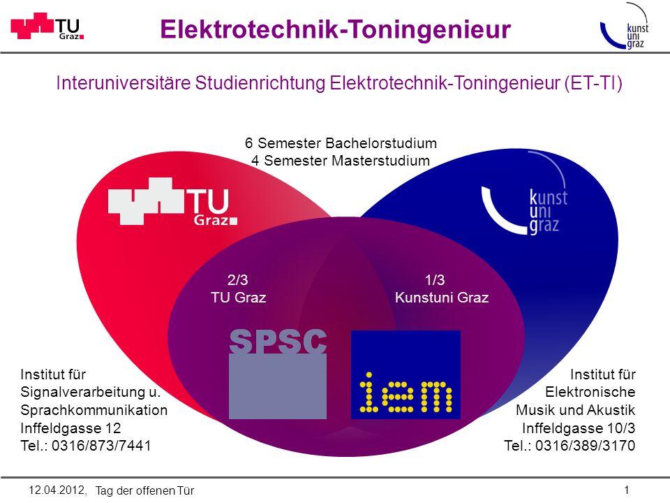 Interuniversitäre Studienrichtung Elektrotechnik-Toningenieur (ET-TI)