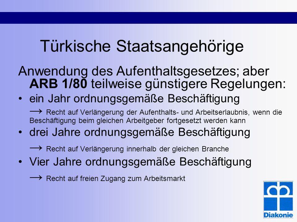 Türkische Staatsangehörige