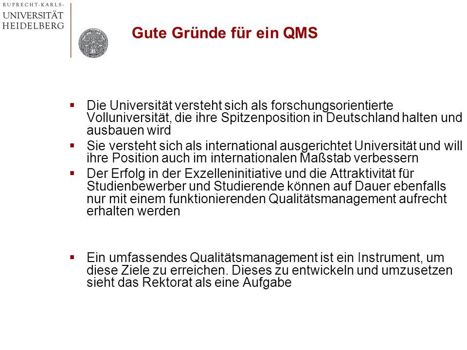 Gute Gründe für ein QMS