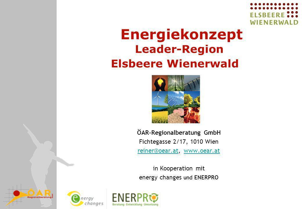 Energiekonzept Leader-Region Elsbeere Wienerwald