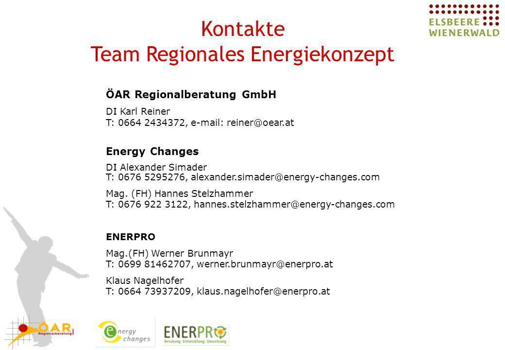 Team Regionales Energiekonzept