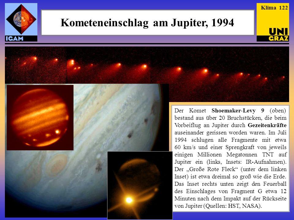 Kometeneinschlag am Jupiter, 1994
