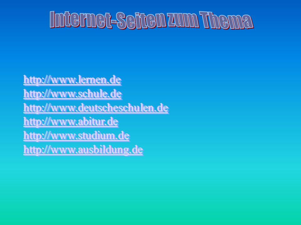 Internet-Seiten zum Thema