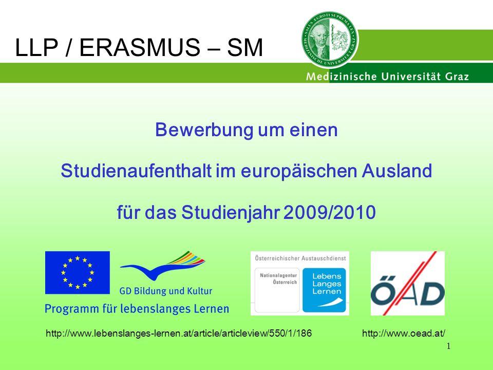 Studienaufenthalt im europäischen Ausland