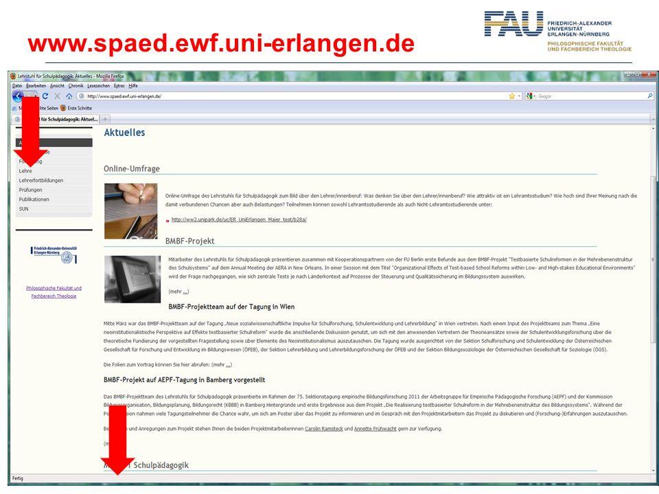 www.spaed.ewf.uni-erlangen.de Ab hier: Hr.