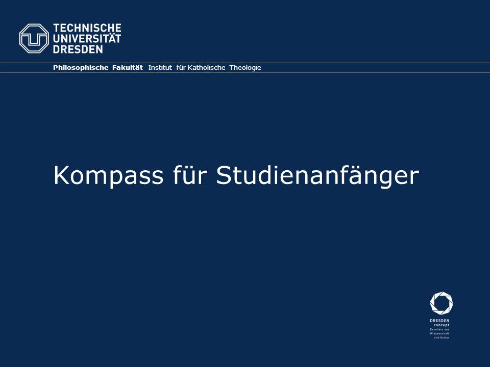 Kompass für Studienanfänger