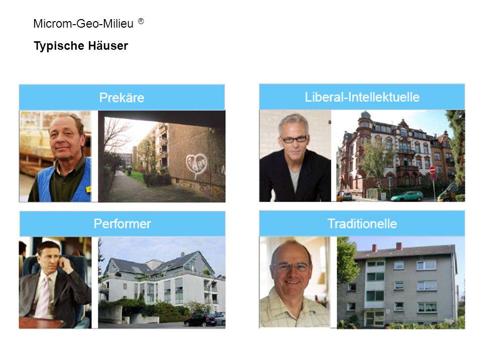 Microm-Geo-Milieu ® Typische Häuser