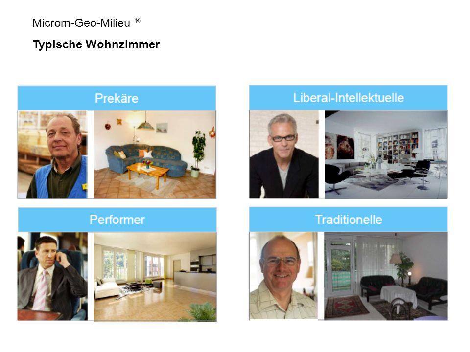 Microm-Geo-Milieu ® Typische Wohnzimmer
