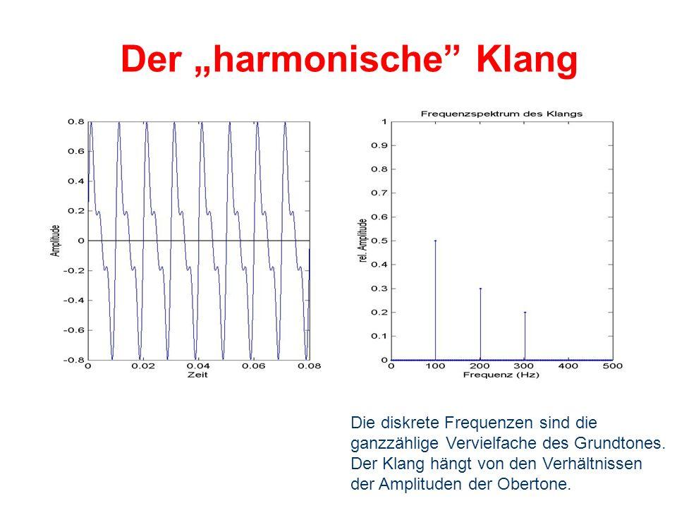 """Der """"harmonische Klang"""