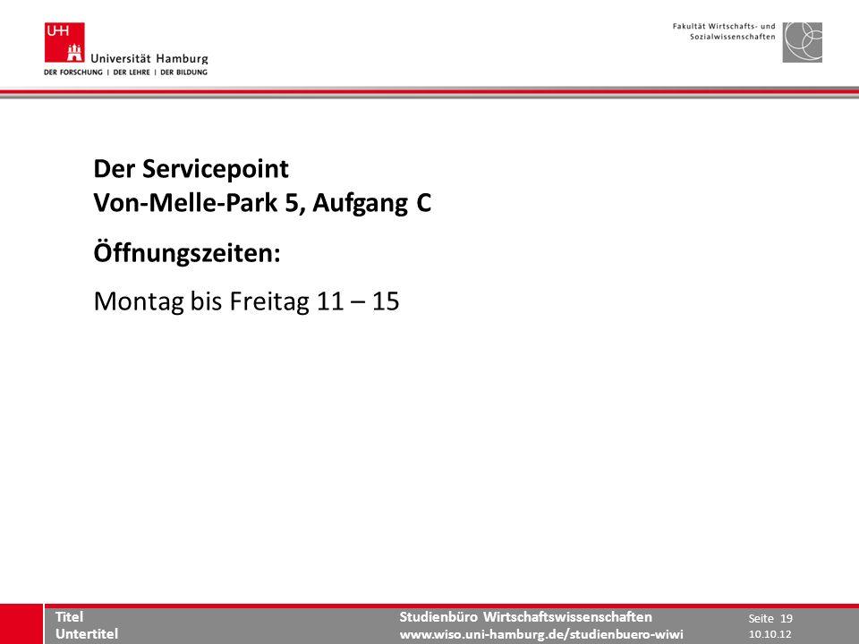 Von-Melle-Park 5, Aufgang C