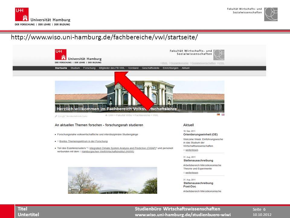 http://www.wiso.uni-hamburg.de/fachbereiche/vwl/startseite/ Titel