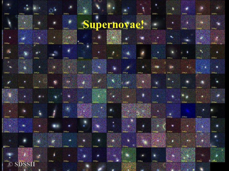 © SDSSII Supernovae! Supernovae Bruno Leibundgut