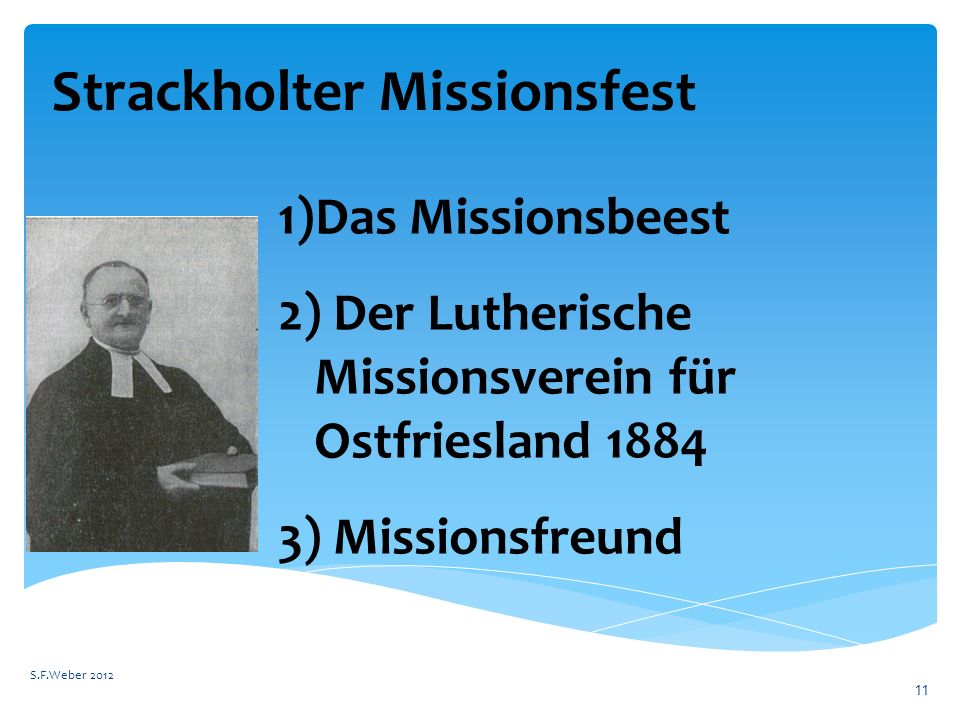 Strackholter Missionsfest
