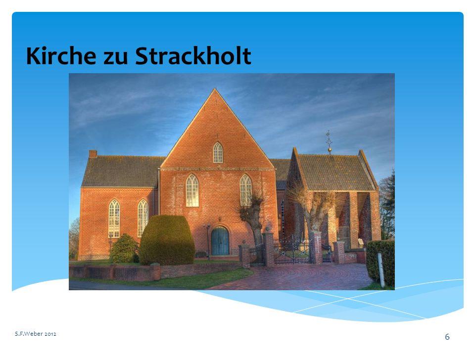 Kirche zu Strackholt S.F.Weber 2012