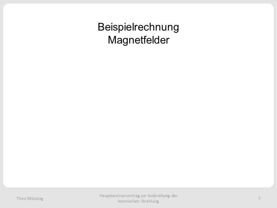 Beispielrechnung Magnetfelder