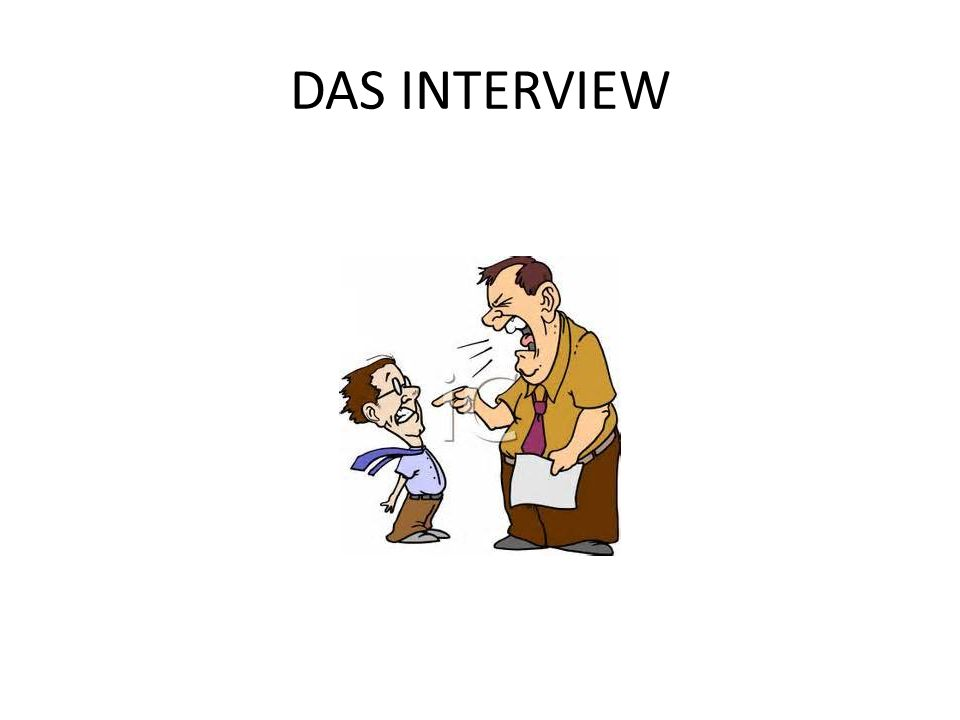 DAS INTERVIEW
