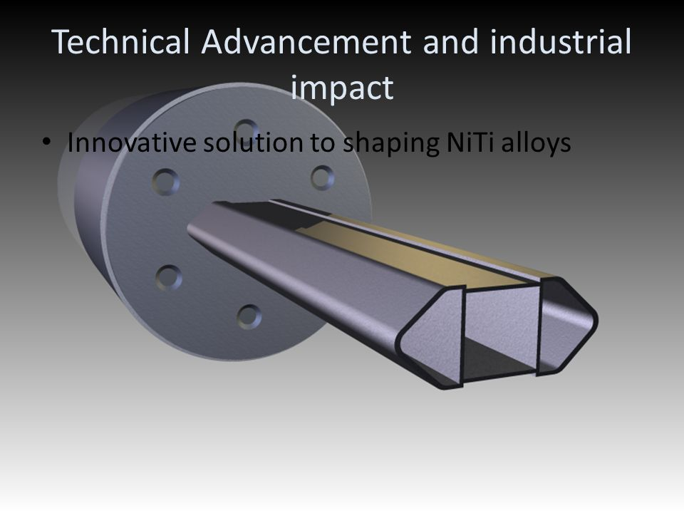 Technical Advancement and industrial impact