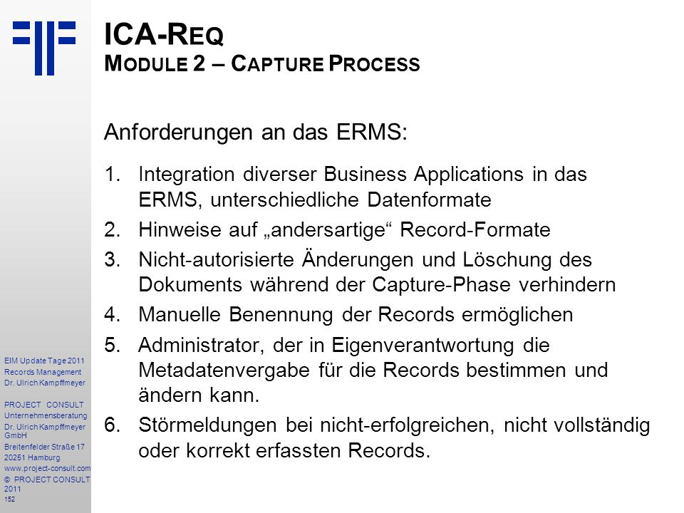 ICA-Req Module 2 – Capture Process