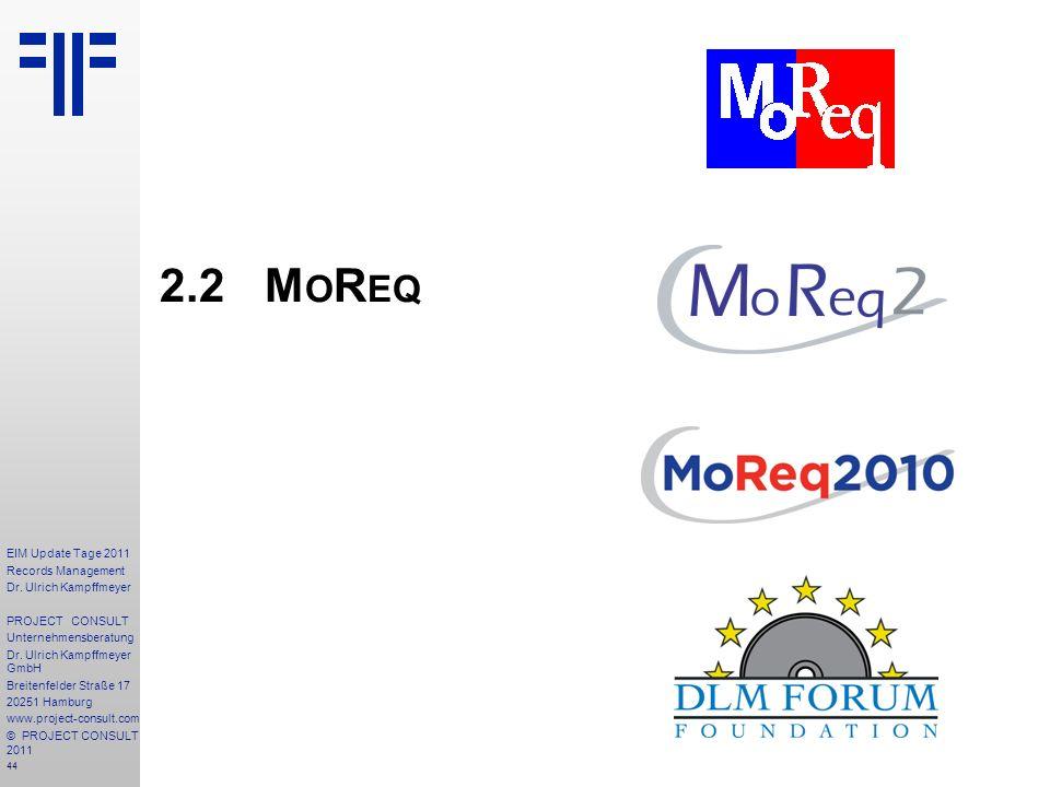 2.2 MoReq