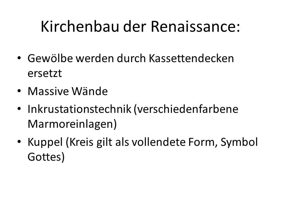 Kirchenbau der Renaissance: