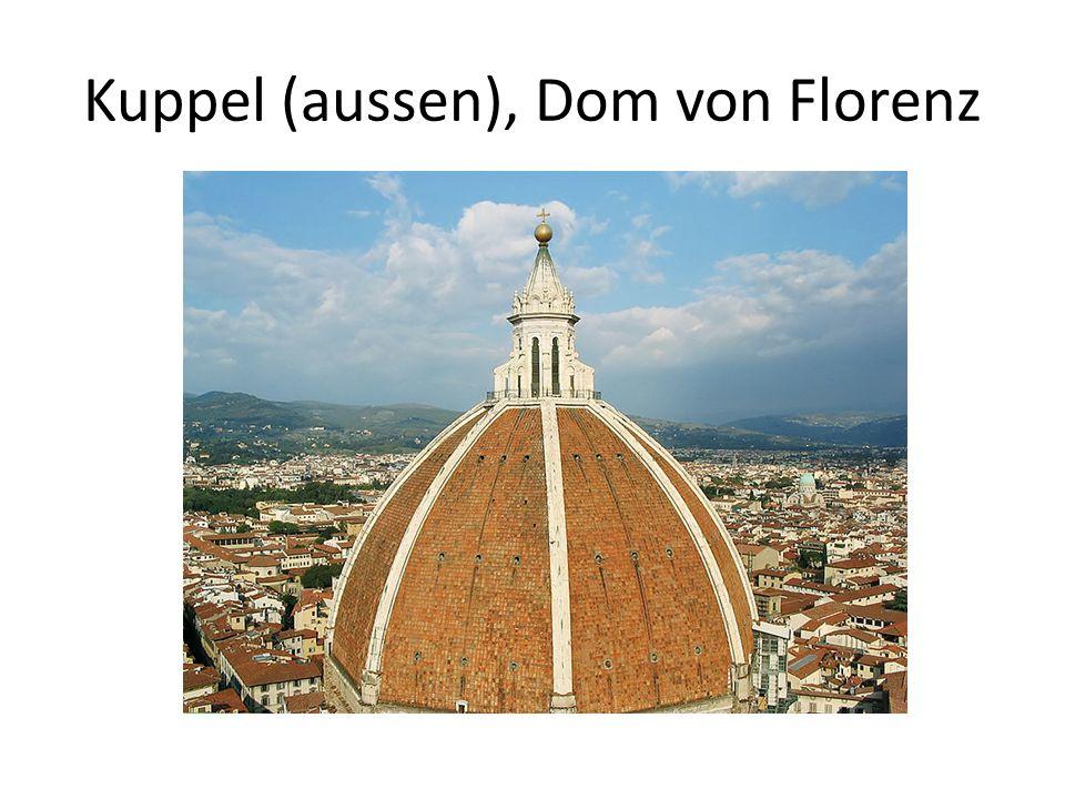 Kuppel (aussen), Dom von Florenz