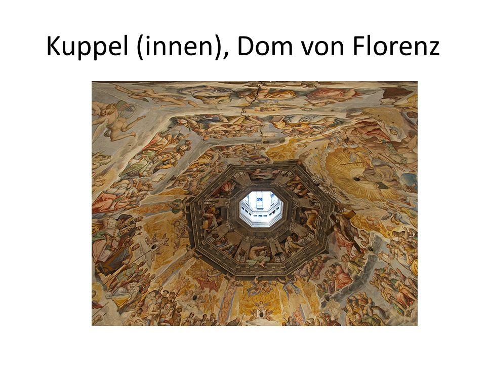 Kuppel (innen), Dom von Florenz
