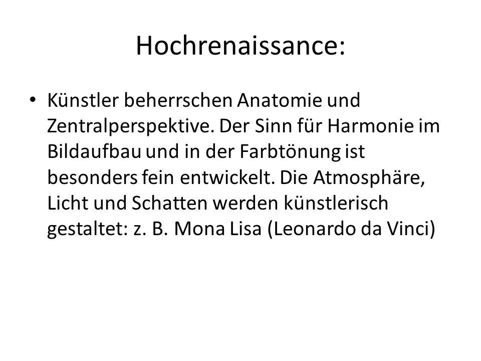 Hochrenaissance: