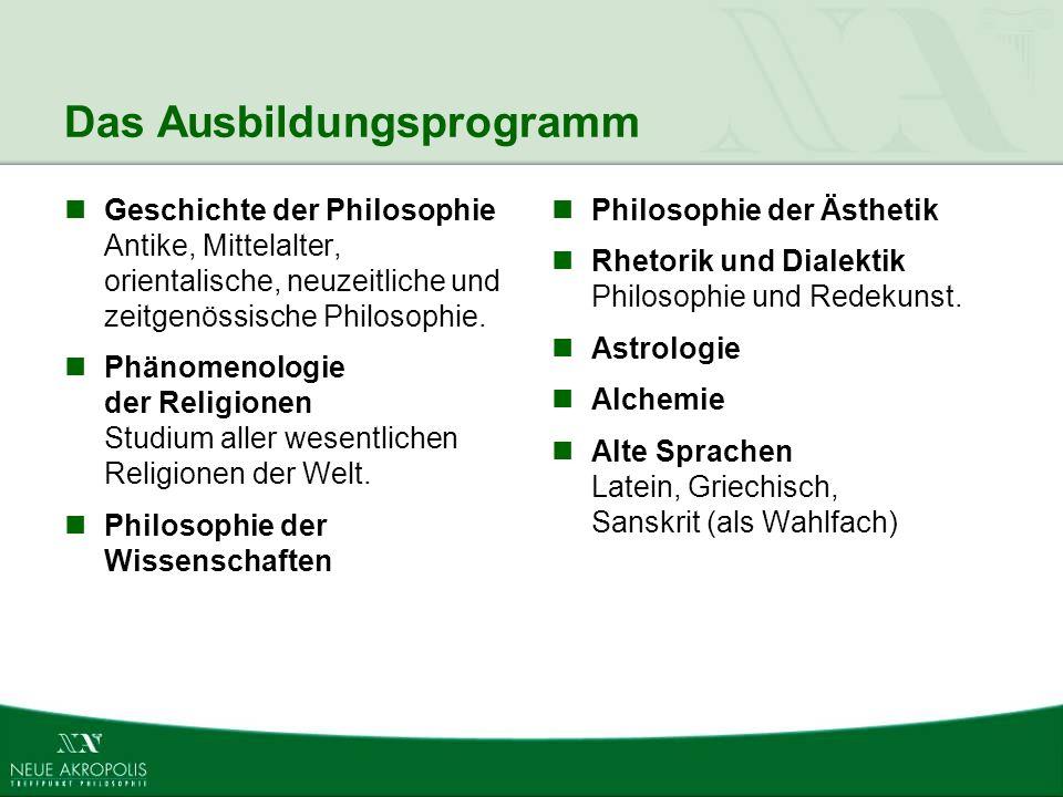 Das Ausbildungsprogramm