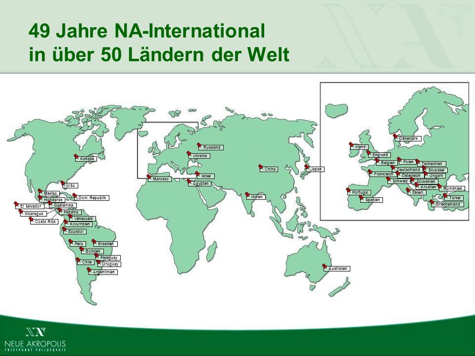 49 Jahre NA-International in über 50 Ländern der Welt
