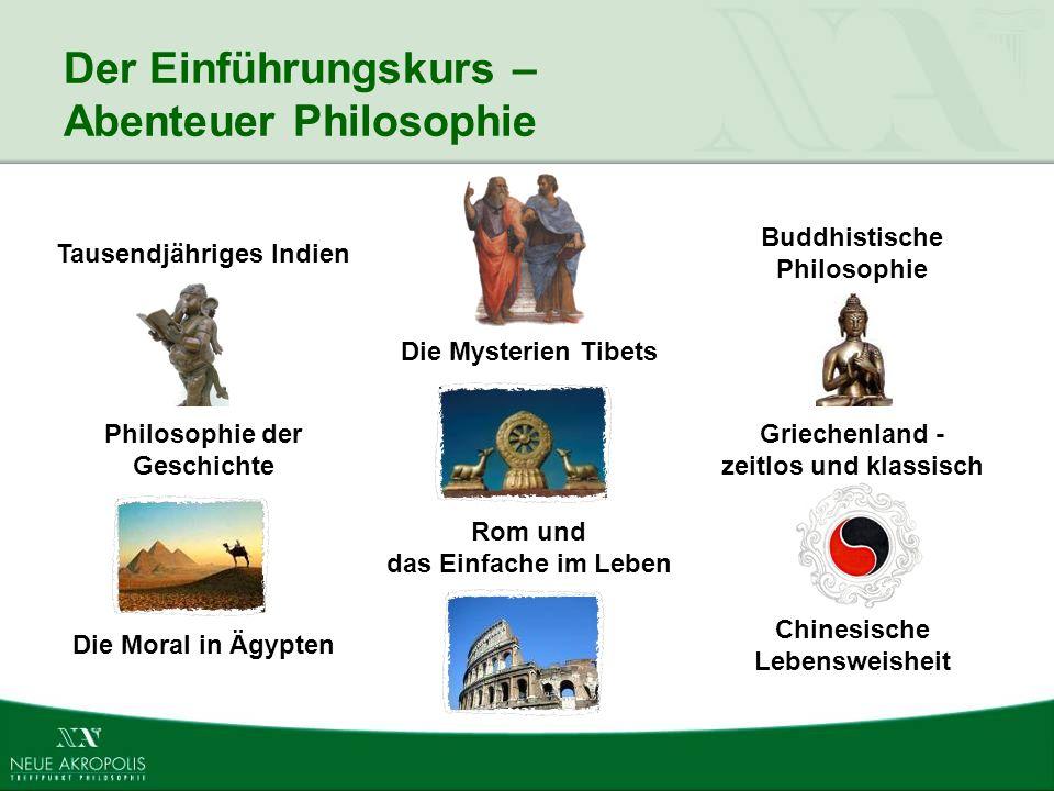 Der Einführungskurs – Abenteuer Philosophie