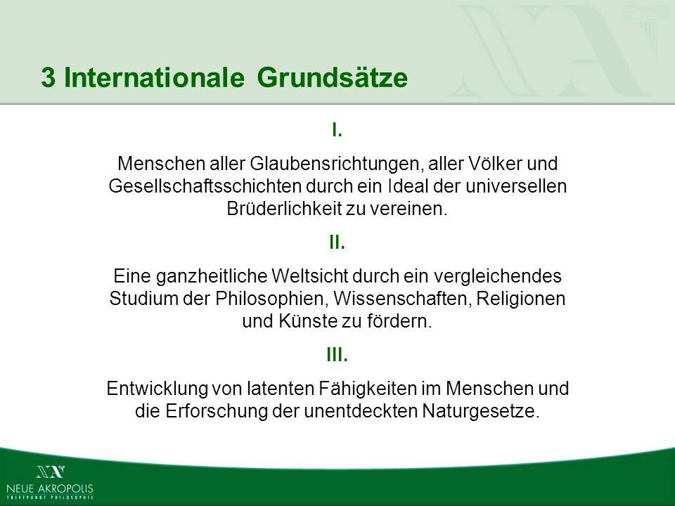 3 Internationale Grundsätze