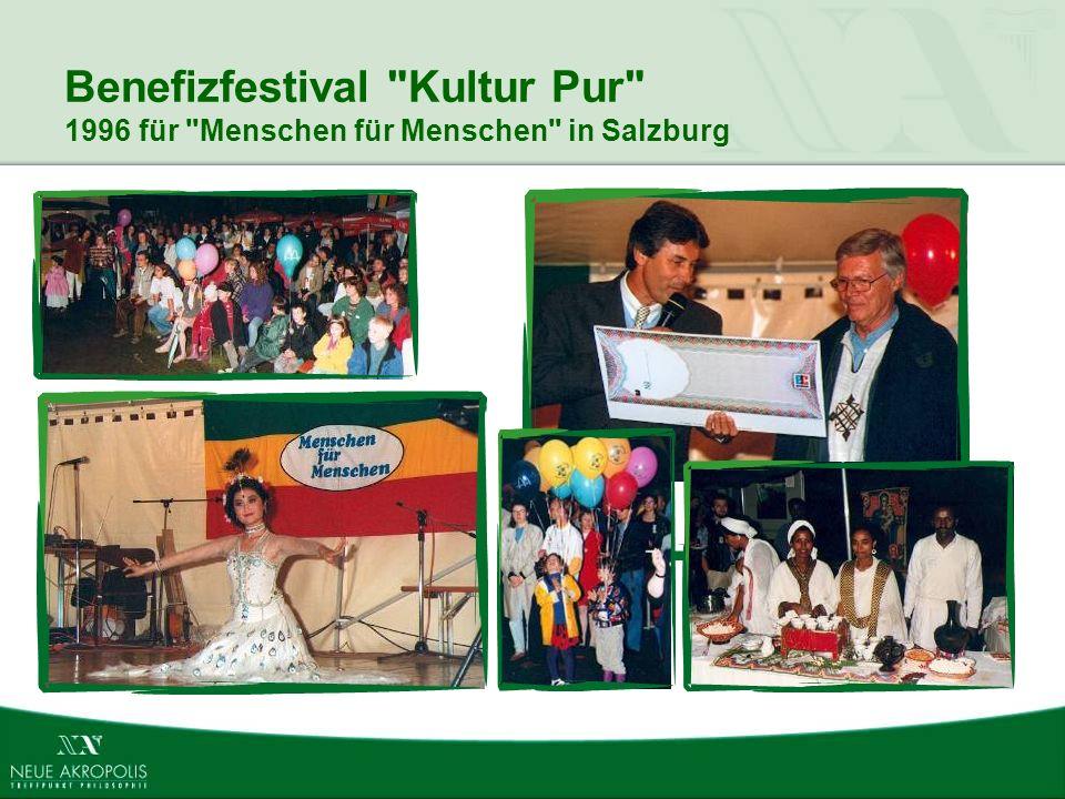 Benefizfestival Kultur Pur 1996 für Menschen für Menschen in Salzburg