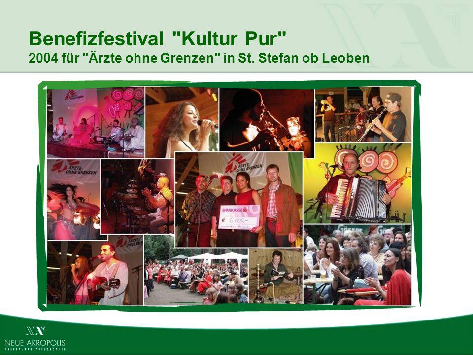 Benefizfestival Kultur Pur 2004 für Ärzte ohne Grenzen in St