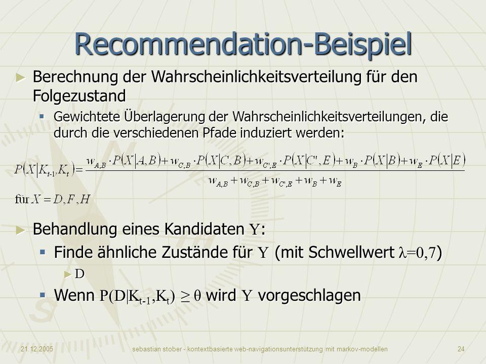 Recommendation-Beispiel