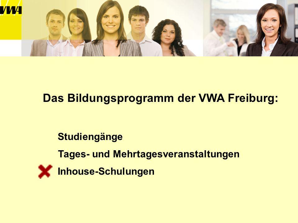 Das Bildungsprogramm der VWA Freiburg: