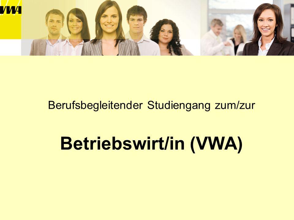 Betriebswirt/in (VWA)