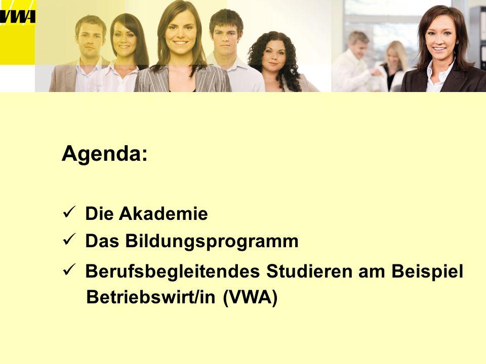 Agenda: Die Akademie Das Bildungsprogramm