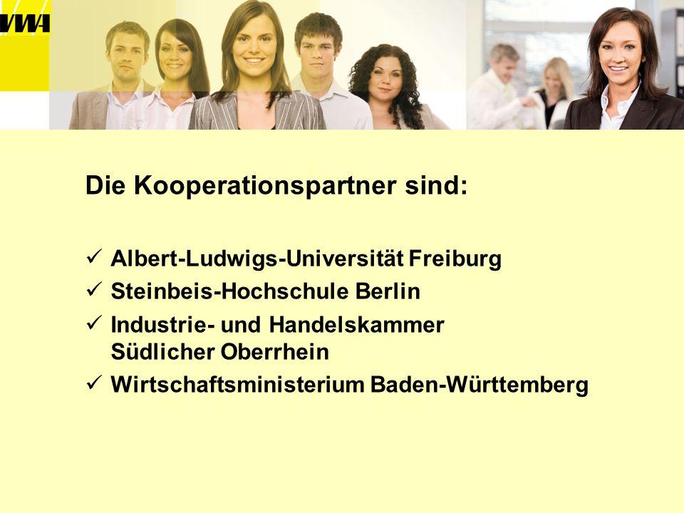 Die Kooperationspartner sind: