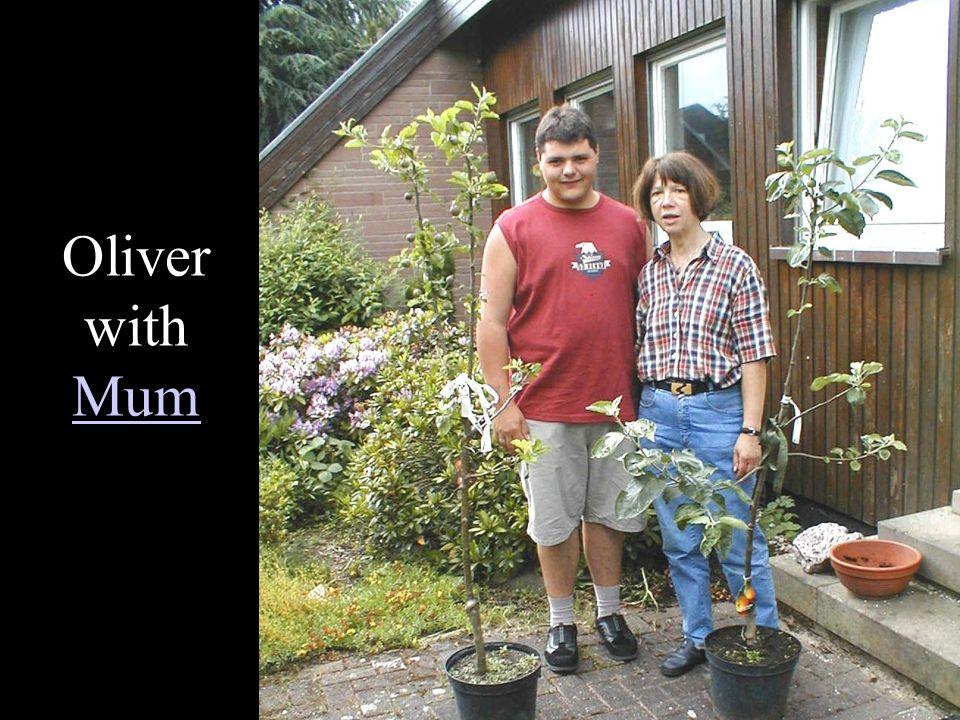 Oliver with Mum