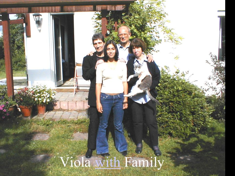 Viola with Family
