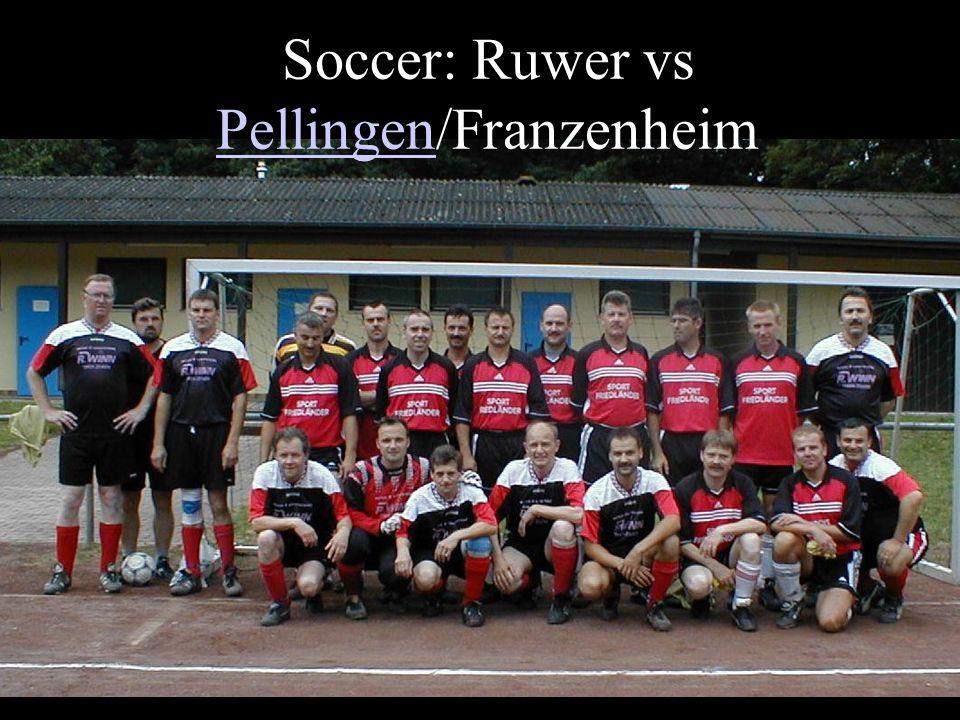 Soccer: Ruwer vs Pellingen/Franzenheim